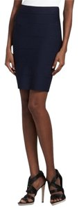 BCBG Max Azria Power Alexa Skirt Navy