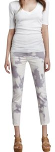 7 For All Mankind Acid Tie Dye Special Capri/Cropped Denim-Acid