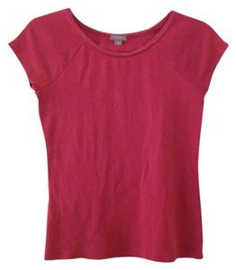 Ann Taylor T Shirt Red