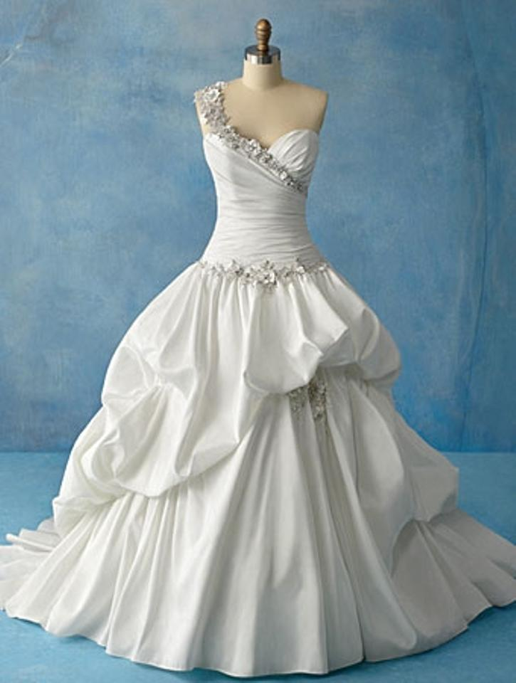Alfred Angelo Diamond White Taffeta 204 Tiana Disney Princess ...