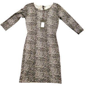 Guess By Marciano Sweater Cheetah Spring Winter Dress