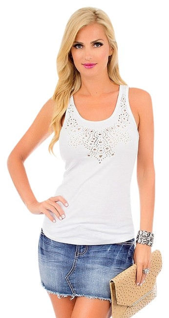 Pop Star Top white