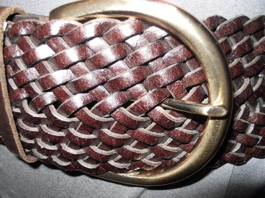 Ann Taylor Ann Taylor wide woven leather