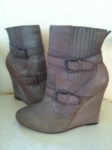 Joie Taupe Boots