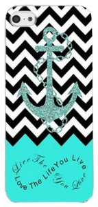 Other Chevron Anchor ( Live the life you love,Love the life you live) Hard Skin Plastic Case For Samsung Galaxy S6