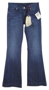 Lucky Brand Trouser/Wide Leg Jeans-Medium Wash