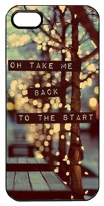 Outdoor scene ( Oh Take Me Back To The Start) Hard Skin Plastic Case For iPhone 6 4.7