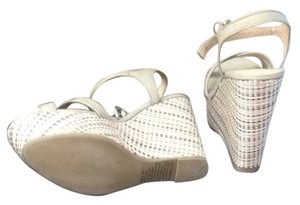 Lauren Conrad Metallic Wedges