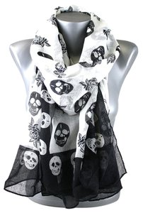 Other Skull Print Fashion Scarf