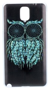 Black Owl Hard Skin Plastic Case For Samsung Galaxy S6