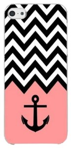 Other Pink Chevron Anchor Hard Skin Plastic Case For Samsung Galaxy S6