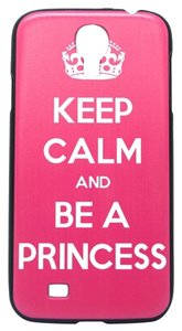 Other Pink Keep Calm Hard Skin Plastic Case For Samsung Galaxy S6