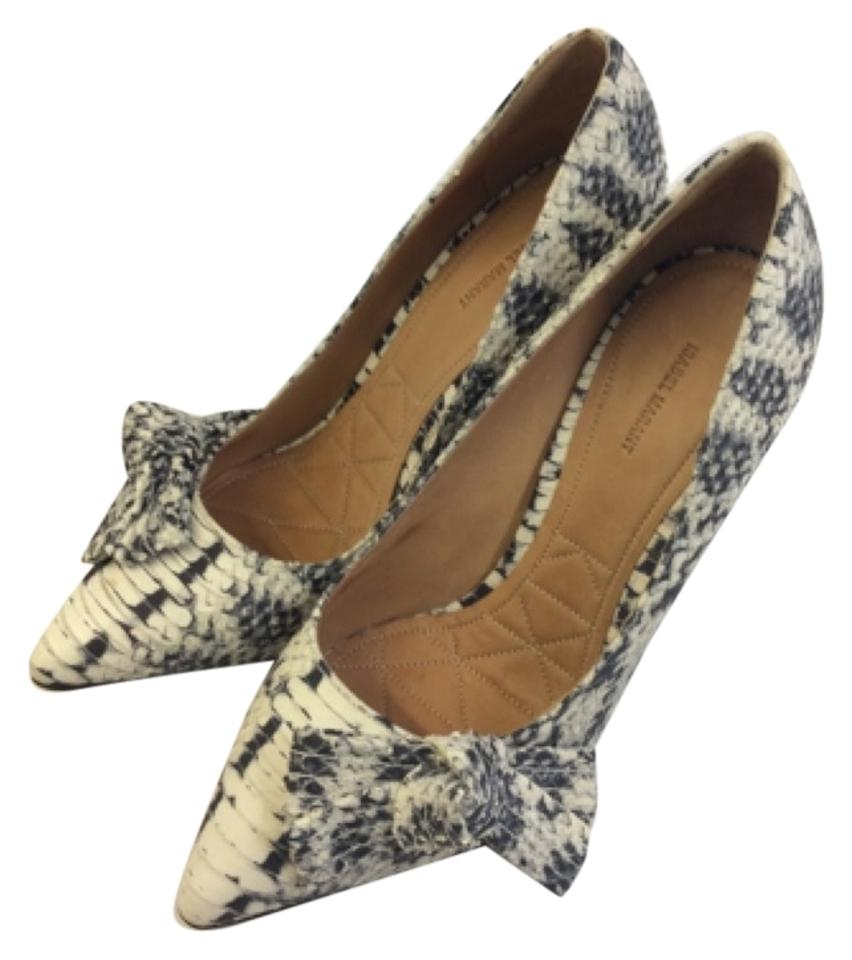 ladies Isabel Marant Complete Black White Pumps Complete Marant specification area dc8afa
