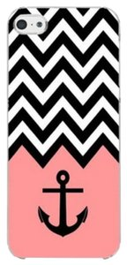 Other Pink Chevron Anchor Hard Skin Plastic Case For iPhone 6 4.7