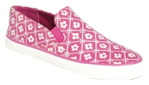 Tory Burch Red Pink & White Athletic