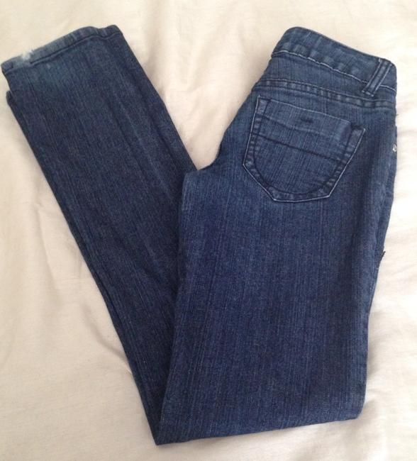 Forever 21 Boot Cut Jeans-Dark Rinse