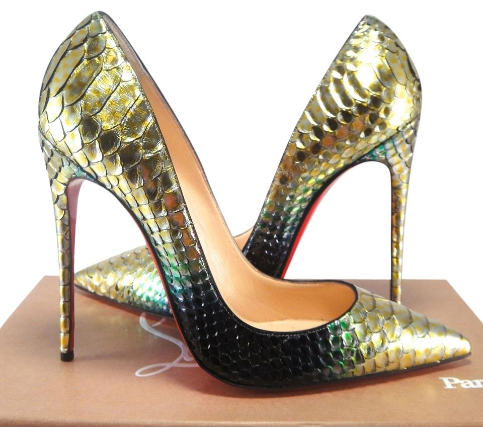 9e134a7082a Christian Louboutin Green Ombre New So Kate Mimosa Mermaid 120mm 39 #294  Pumps Size US 9 Regular (M, B) 33% off retail