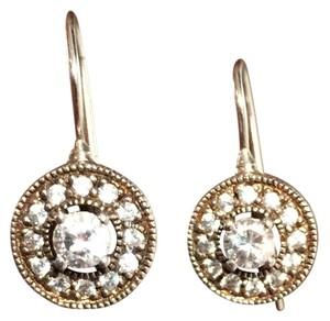 Vintage CZ Drop Earrings