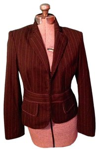 The Limited Brown and Pink Blazer