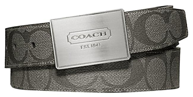 Item - Silver/Grey/Charcoal Men's Cut To Size Reversible (Ship Via Priority Mail) (Boxed) Belt