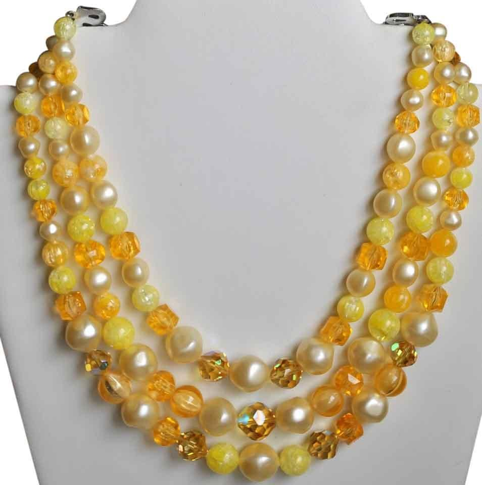 floral tel accessories lucite kibur shop necklace adia