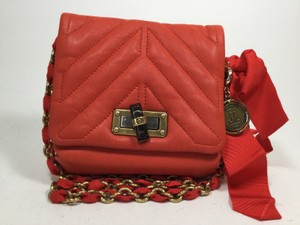 Lanvin Quilted Chanel Like Cross Body Bag