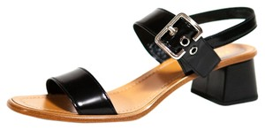 6acd301416f9d2 Prada Black and Brown Summer Chunky Sandals Size US 8 - Tradesy