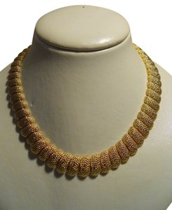 Napier RESERVED FOR AMY Napier textured gold tone necklace