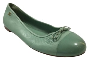 Chanel Ballerina Mint Green Flats