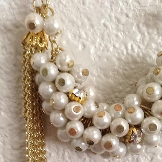 Unknown Gold Pearl Necklace