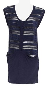 3.1 Phillip Lim short dress Navy on Tradesy