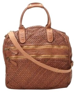 Bruno Magli Chestnut Travel Bag