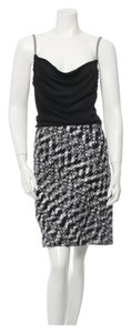 Missoni Knit Black And White Dress