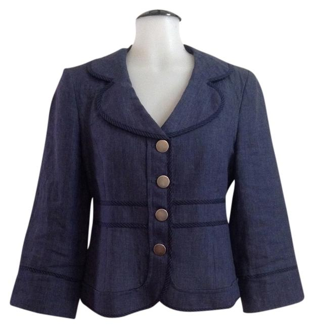 Preload https://item2.tradesy.com/images/cynthia-steffe-navy-blazer-size-4-s-706501-0-0.jpg?width=400&height=650