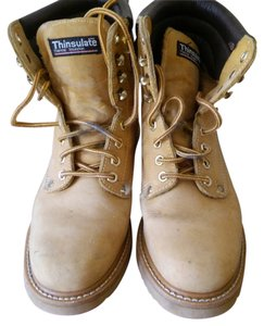 Lites Wook Boot Leather tan Boots