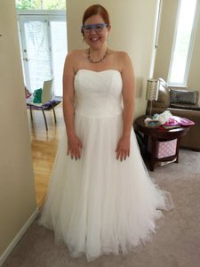 David's Bridal Style Mk3576 Wedding Dress