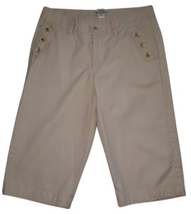 Banana Republic Capri/Cropped Pants Tan
