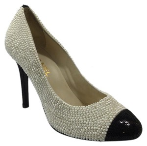 Chanel Pearl Classic Evening Pumps