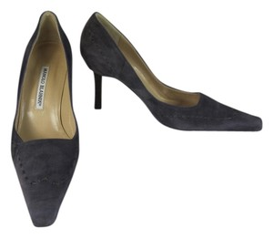 Manolo Blahnik Leather Heels Pumps