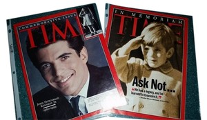 Time Magazine Time magazines 7/26 & 8/2 1999 JFK Jr. Commenorative issues