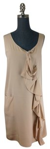 Marni short dress Beige on Tradesy