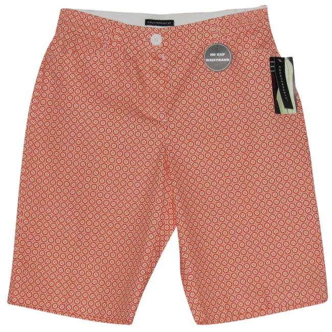 Item - White/Orange New with Tags Shorts Size 12 (L, 32, 33)