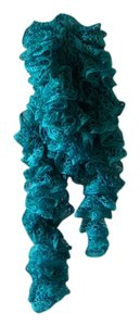 Scarf Teal Sparkle Long