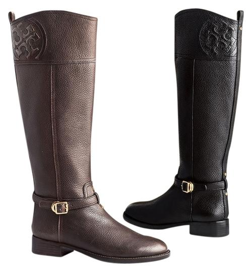 Preload https://item1.tradesy.com/images/tory-burch-chocolate-brown-marlene-riding-with-dustbag-bootsbooties-size-us-8-regular-m-b-7069675-0-1.jpg?width=440&height=440