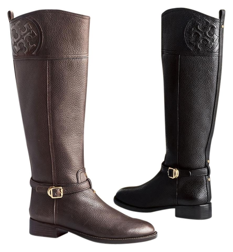 7b328c972296 Tory Burch Chocolate Brown Marlene Riding (With Dustbag) Boots Booties