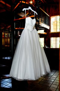 Oleg Cassini Cwg322 Wedding Dress