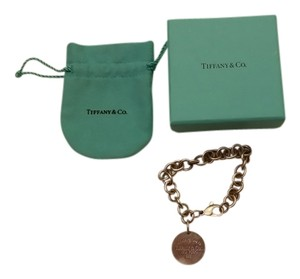 Tiffany & Co. Return to Tiffany Round Tag Charm Bracelet