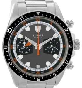 Tudor Tudor Heritage Chrono Grey Dial Steel Mens Watch 70330N-95740
