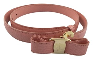 Salvatore Ferragamo Salvatore Ferragamo Vara Bow Adjustable Belt