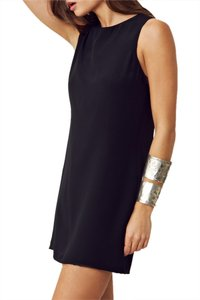 Naven short dress Black Shift Mini Shift on Tradesy